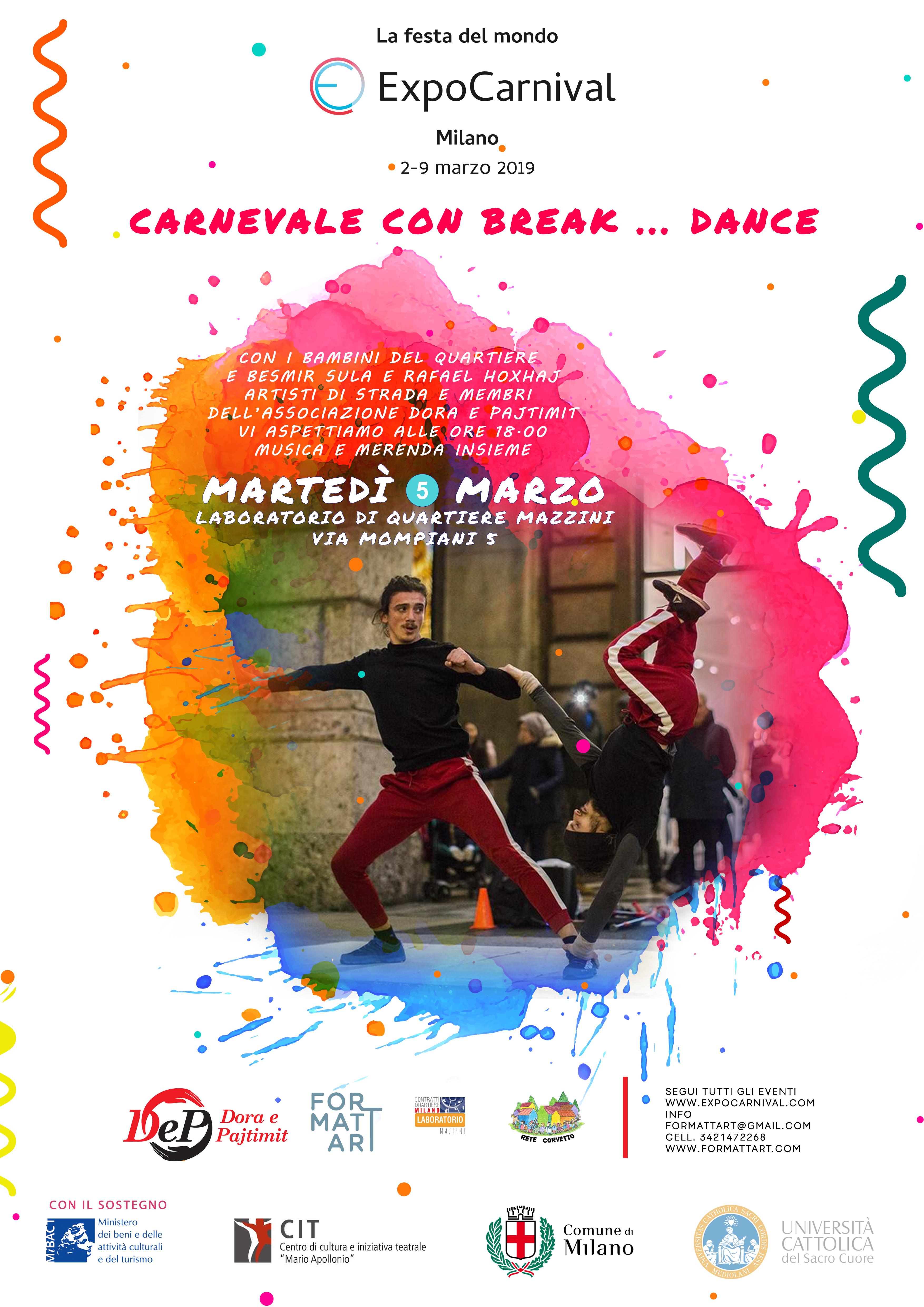 Carnevale con Break Dance