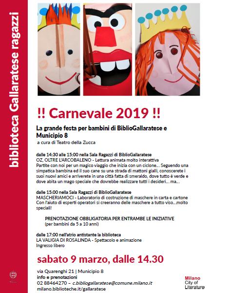 Carnevale al Municipio 8