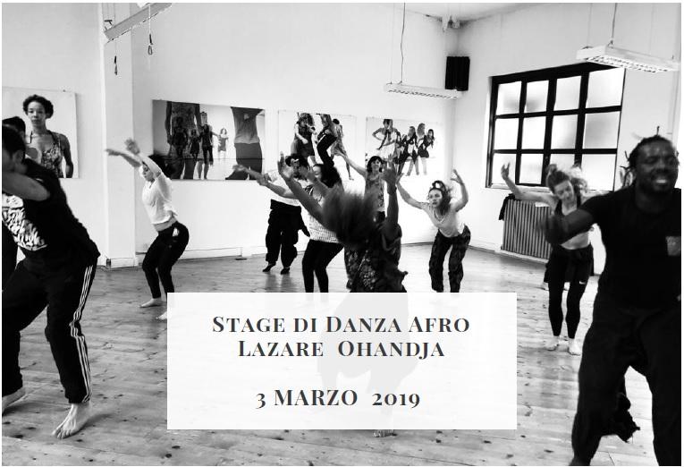 Stage di Danza Afro Lazare Ohandja